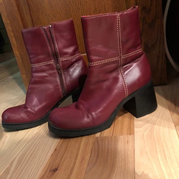 51c09f6a05e78 Oxblood Leather Boots